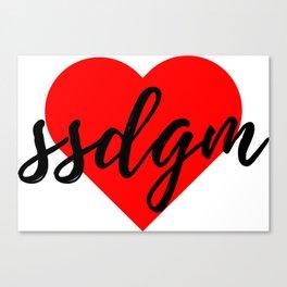 SSDGM Canvas Print