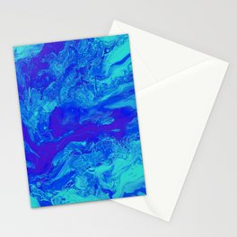 Paint Pouring 35 Stationery Cards