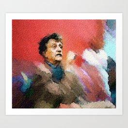 You Are Not Alone -- Kurt Vonnegut Art Print