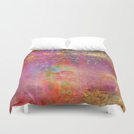 Boho Rose Duvet Cover