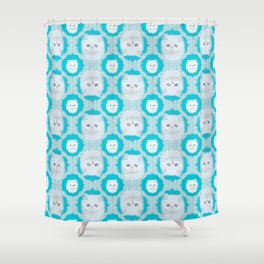Lord Aries Cat - Art 001 Shower Curtain