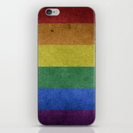 LGBT Pride Flag iPhone Skin