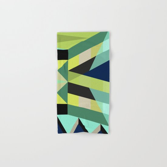 Geometric#25 Hand & Bath Towel