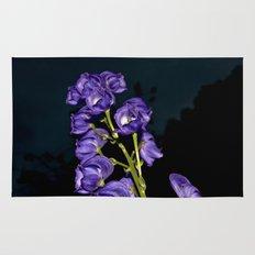 Dark Purple Elegance Rug