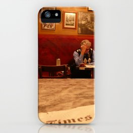 Cafe, North Beach, San Francisco iPhone Case