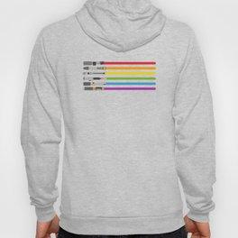 Lightsaber Rainbow Hoody