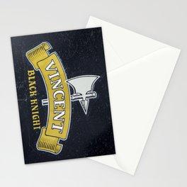 Vincent Black Knight Stationery Cards