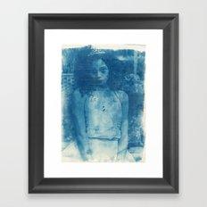 Icequeen Framed Art Print