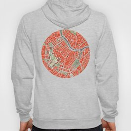 Vienna city map classic Hoody