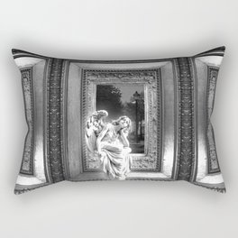 Angel of Bristol (BW) Rectangular Pillow