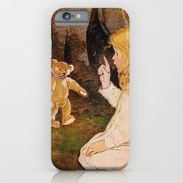 """Goldilocks and the Bears"" by Jessie Willcox Smith iPhone Case"