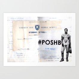 Poshboy Art Print