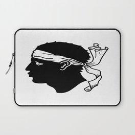 flag of corsica – corsican,tête de maure,île de beauté,ajaccio, bastia, aiacciu. Laptop Sleeve