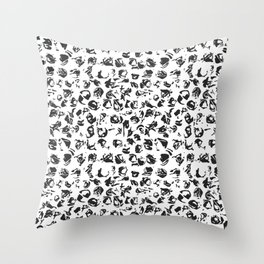 Soleares Throw Pillow