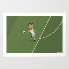 Zidane's volley Art Print