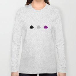 Ace Pride - Spades Long Sleeve T-shirt