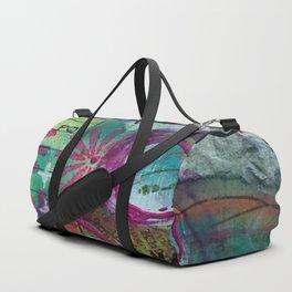 Shine On Teal Duffle Bag