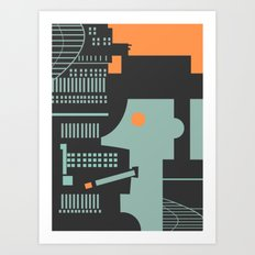 Jazz Man Art Print