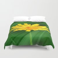 the shining Duvet Covers featuring Shining through.... by Cherie DeBevoise