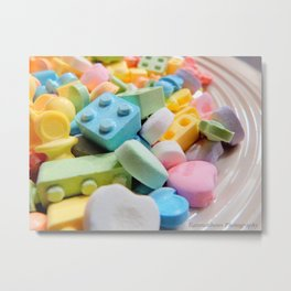 Like a kid in the candy store Metal Print