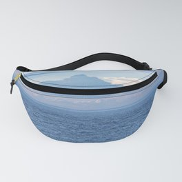 Blue Sky and Clouds on the Sea Fanny Pack