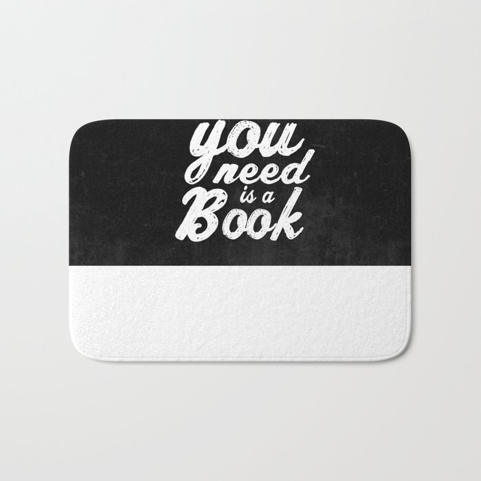 All you need is a book Bath Mat