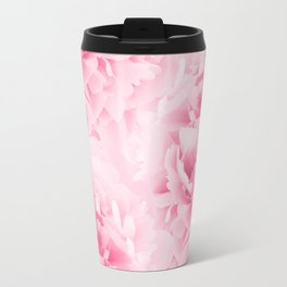 Light Red Peonies Dream #1 #floral #decor #art #society6 Travel Mug