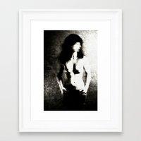 women Framed Art Prints featuring Women by Falko Follert Art-FF77