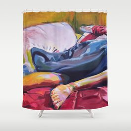Sleep In Shower Curtain