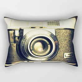 The heart and mind are the true lens of the camera Rectangular Pillow
