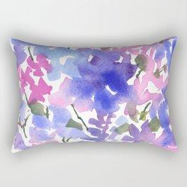 Beautiful Blues Rectangular Pillow