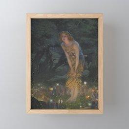 MIDSUMMER EVE - EDWARD HUGHES  Framed Mini Art Print