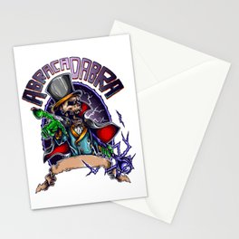 Black Magic for people who like  fantasy legends and mythical creatures  Stationery Cards