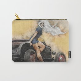 Pin Up Hot Rod Carry-All Pouch