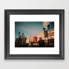 Pigalle Framed Art Print