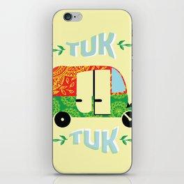 Tuk tuk #society6 iPhone Skin