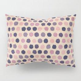 Watercolor funky retro pattern Pillow Sham
