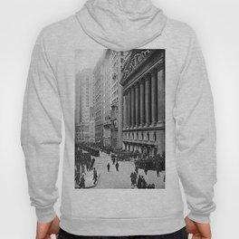 Vintage Wall Street NYC Photograph (1921) Hoody
