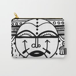 Happy People: Face 4 Carry-All Pouch