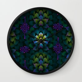 Variations on A Feather IV - Stars Aligned (Primeval Edition) Wall Clock
