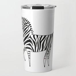 Chronically zebra Travel Mug