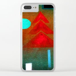 Wassily Kandinsky Almost Submerged Clear iPhone Case
