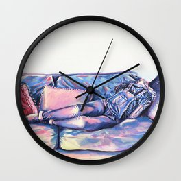 Second Skin I Wall Clock