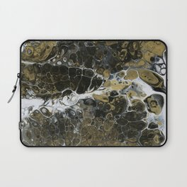 Team Splash, Black and Gold Laptop Sleeve
