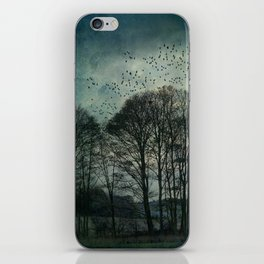 Textured Trees iPhone Skin