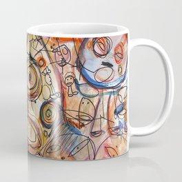 Faces Faces Coffee Mug