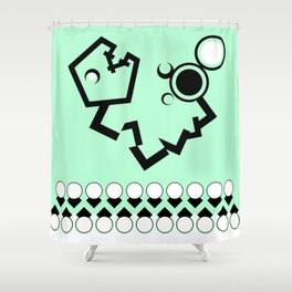 Wicky Shower Curtain