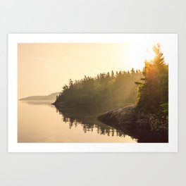 Maritime Morning Art Print