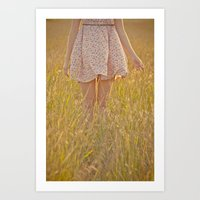 woodstock Art Prints featuring  Isabella Woodstock  by Sheldon Dent