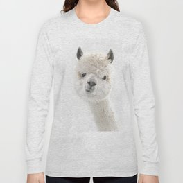PEEKY ALPACA Long Sleeve T-shirt